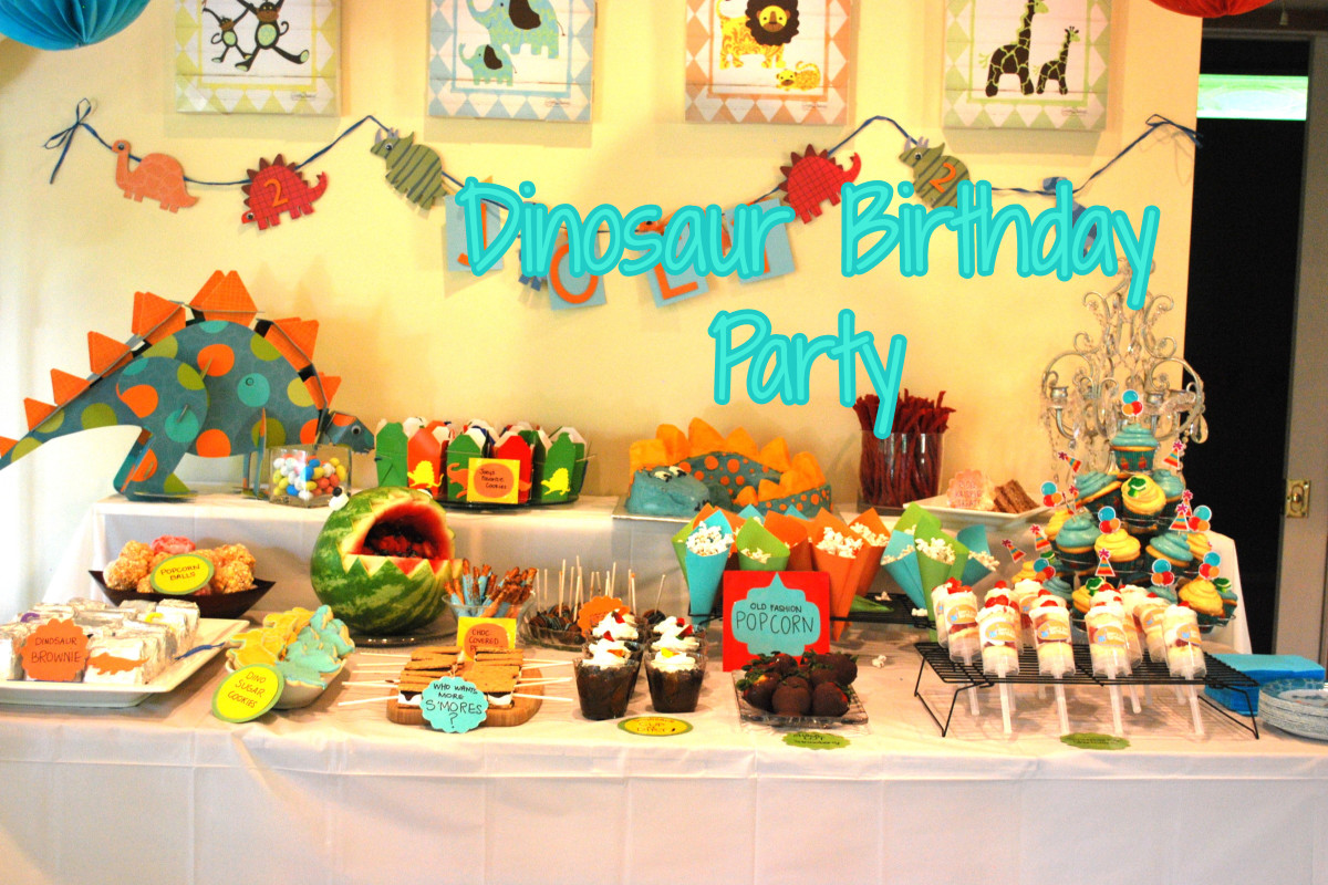 Good Idea For A Dinosaur Birthday Party_For Your Child