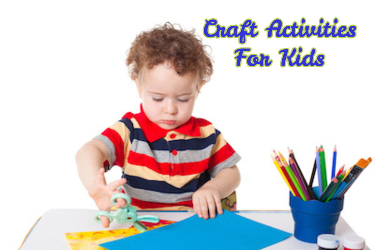 Enhance Creativity For Kids By Craft Activities