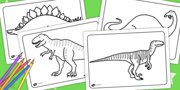 The Reasons That Adults Like Also To Color Dinosaur Pages