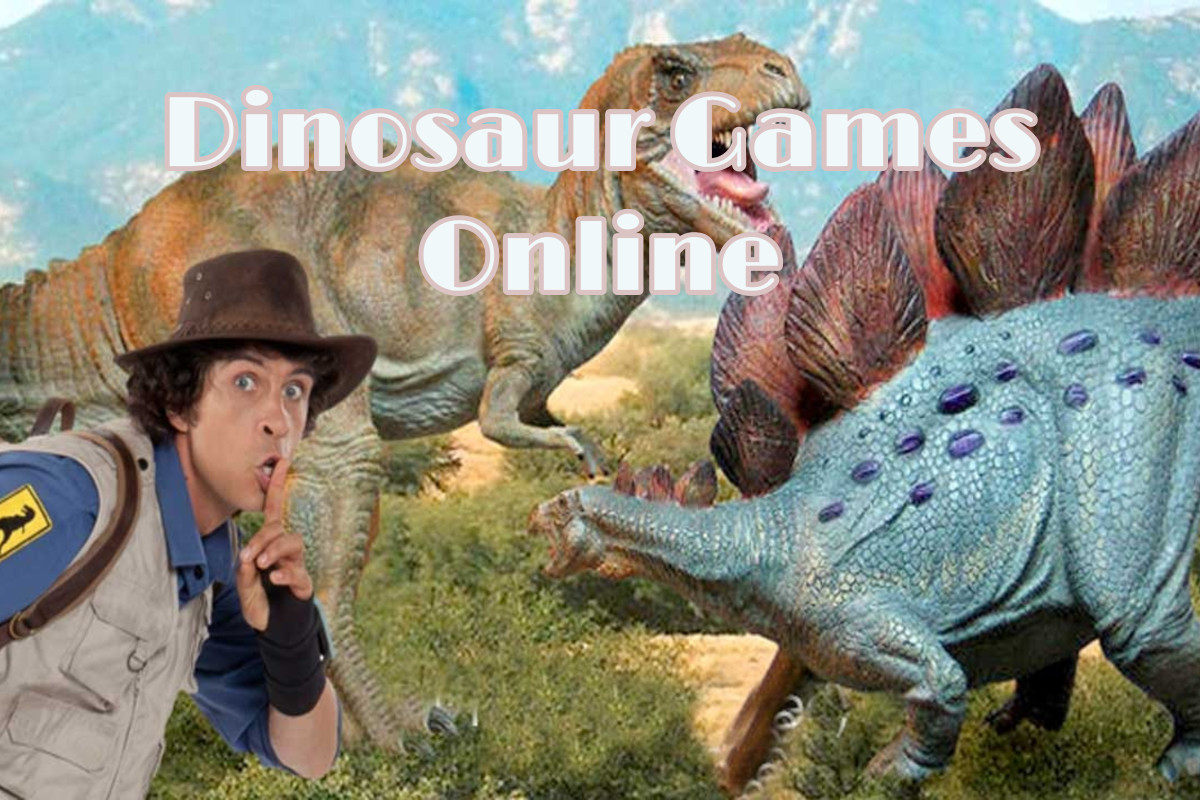 Explore the wonderful world of the dinosaur games online