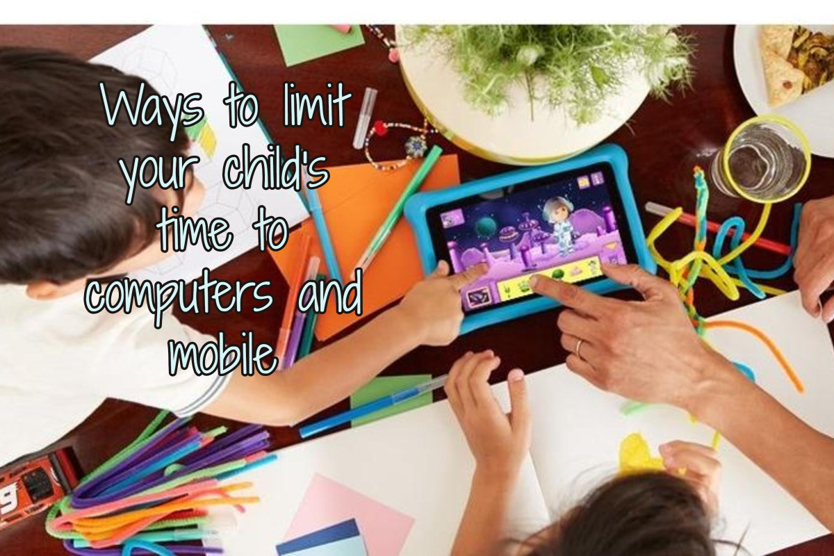 The Ways to limit time use to computer or mobile for kids