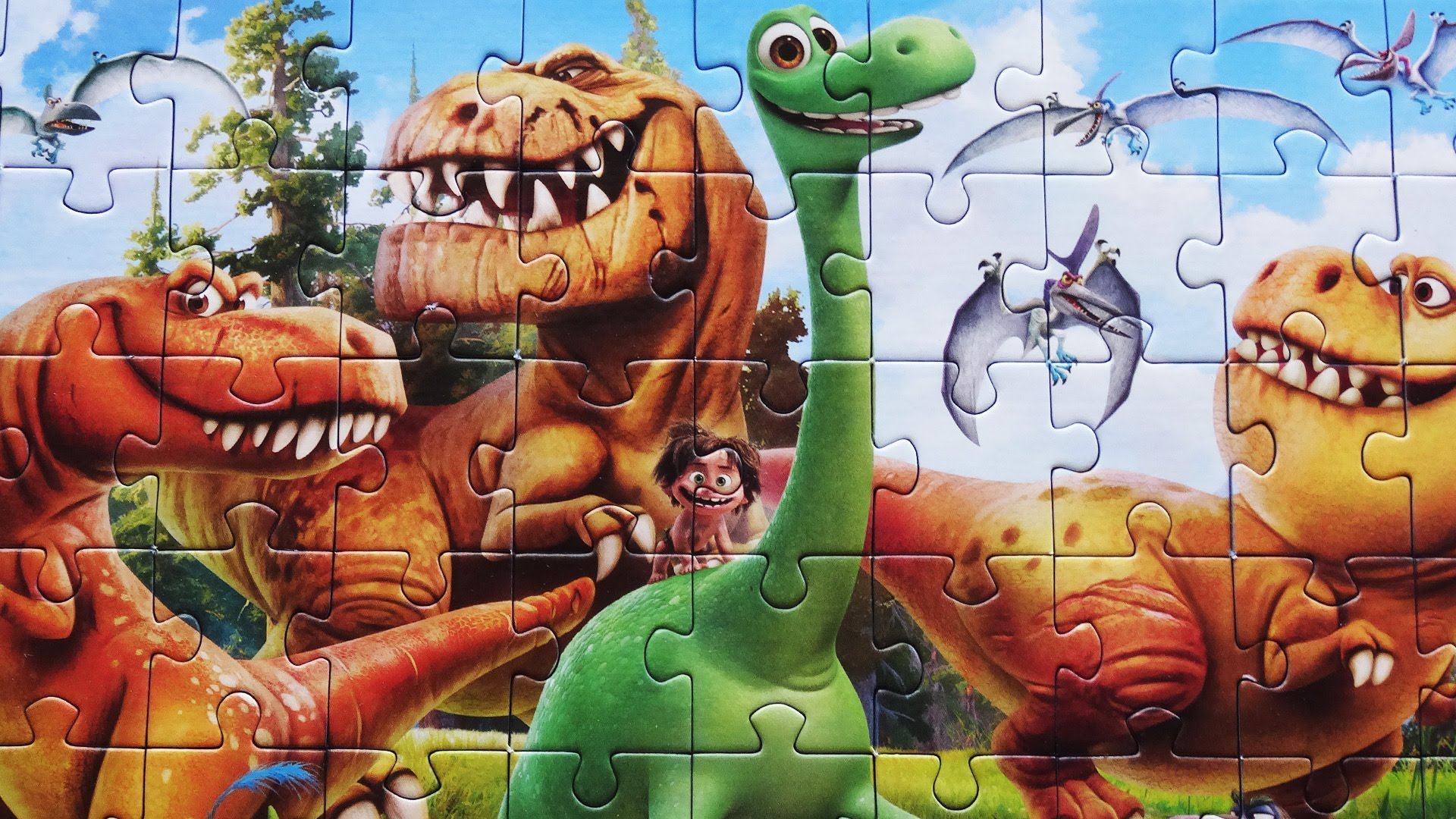 Amazing The Dinosaur Jigsaw Puzzle Games For Kids