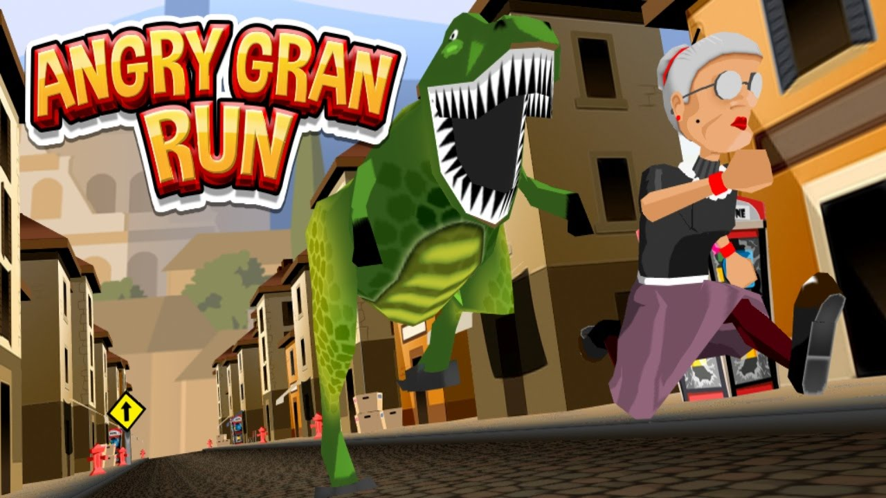 "Take To The Streets With ""Angry Gran Run"" Games Collection"