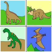 Which dinosaurs are the most popular for online coloring