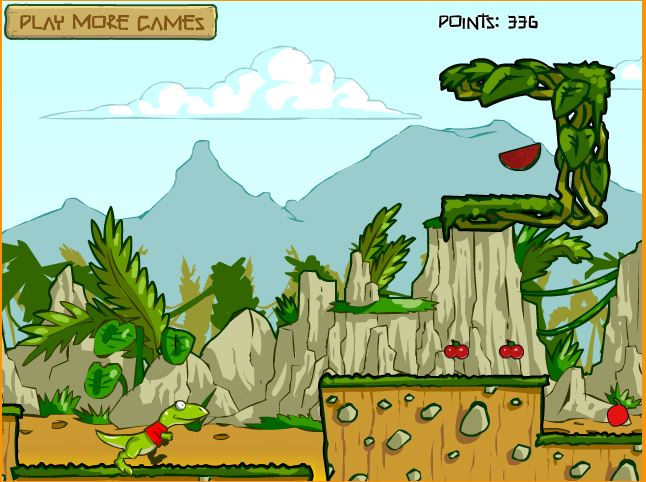 Dino Rush Is One Of The Best Endless Runner Games