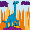The Good Dinosaur Arlo Coloring Game