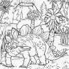 Stegosaurus 3 Coloring Page Game