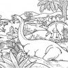 Dinosaur Populations Coloring Page Game