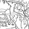 Parasaurolophus Coloring Page Game